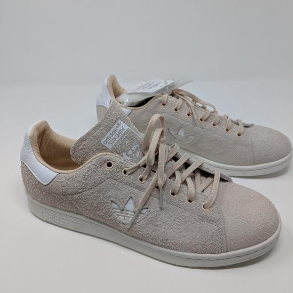 free shipping 261a3 2c25b Adidas Stan Smith plush suede originals size 9.5 NWT